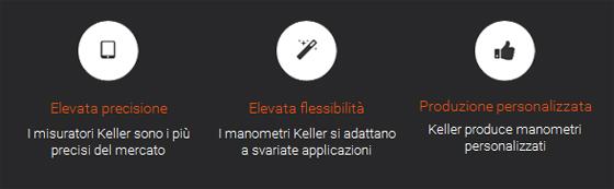 Keller, la qualità svizzera per le tue misurazioni